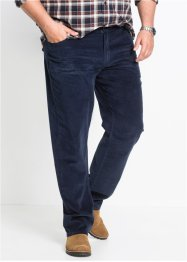 5-Pocket-Hose in Samtoptik Regular Fit, bpc bonprix collection