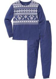Pyjama in winterlichem Design, bpc bonprix collection