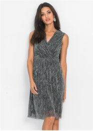 Lurex-Kleid in Wickel-Optik, BODYFLIRT