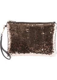 Clutch mit Streichpailletten, bpc bonprix collection