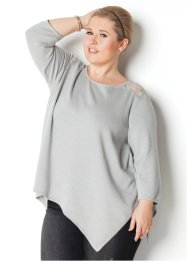 3/4-Arm-Pullover im Zipfellook – designt von Maite Kelly, bpc bonprix collection
