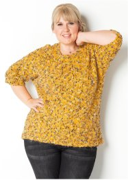 Strickpullover mit Effektgarn – designt von Maite Kelly, bpc bonprix collection