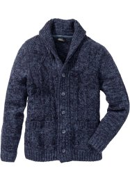 Strickjacke mit Zopfmuster Regular Fit, bpc bonprix collection