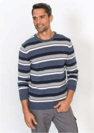 Streifenpullover Regular Fit, bpc bonprix collection