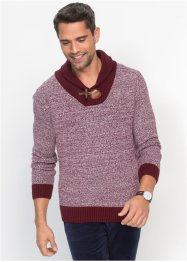 Pullover mit Schalkragen Regular Fit, bpc bonprix collection