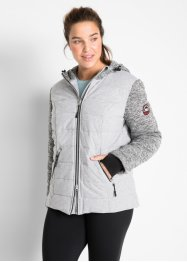 Steppjacke mit Jersey und Strickfleece, bpc bonprix collection