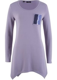 Zipfelshirt mit Paillettentasche, bpc bonprix collection
