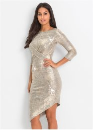 Kleid in Metallic-Optik, BODYFLIRT