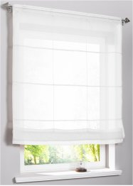 Transparentes Faltrollo einfarbig, bpc living bonprix collection
