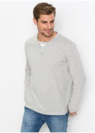 Langarmshirt in 2-in-1-Optik Regular Fit, bpc bonprix collection