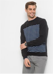 Pullover mit Streifen Regular Fit, bpc bonprix collection