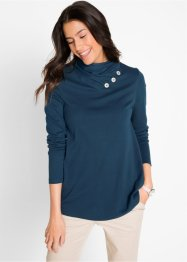 Langarm-Rollkragenshirt, bpc bonprix collection