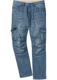 Cargo-Jeans Regular Fit Straight, John Baner JEANSWEAR