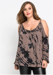 Shirt mit Batikprint, BODYFLIRT boutique