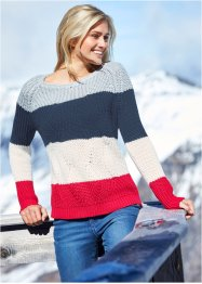 Gestreifter Pullover, bpc bonprix collection