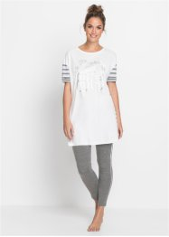 Pyjama mit Leggings, bpc bonprix collection
