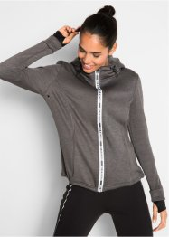 Langärmlige Thermo-Sweatjacke, bpc bonprix collection