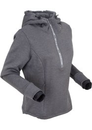 Funktions-Thermofleece-Hoodie mit langen Ärmeln, bpc bonprix collection