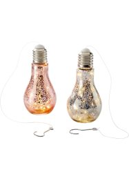 "LED Deko-Leuchte ""Dina"" (2-tlg. Set), bpc living"