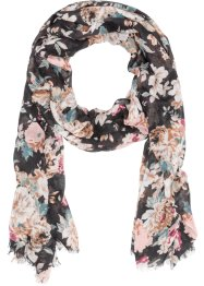 Schal mit Blumen, bpc bonprix collection