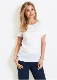 Shirtbluse mit Perlen, bpc selection