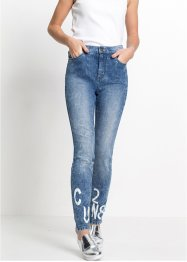High-Waist-Jeans Super Skinny, RAINBOW