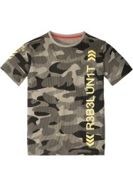 T-Shirt mit Camouflagedruck, bpc bonprix collection