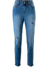 High-Waist-Jeans mit Destroyed-Effekt – designt von Maite Kelly, bpc bonprix collection