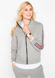 Sweatjacke mit Streifen, bpc bonprix collection