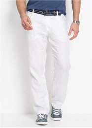Leinenhose mit Turn-Up Regular Fit, bpc selection