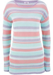 Pullover mit Meshstruktur, bpc bonprix collection