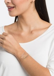 7-tlg. Set Armbänder und Ohrringe, bpc bonprix collection