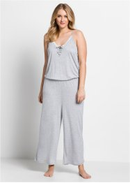 Jumpsuit aus Viskose 7/8-Länge, bpc bonprix collection