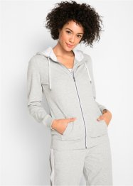 Leichte Langarm-Sweatjacke, bpc bonprix collection