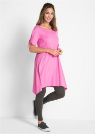 Flammgarn-Shirtkleid mit Schulter-Schlitz, bpc bonprix collection