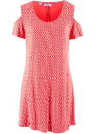 Shirt-Kleid mit Cut-Out, Kurzarm, bpc bonprix collection