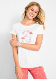 Shirt mit Flamingo-Druck, bpc bonprix collection