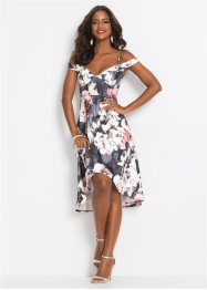 Carmen-Kleid mit Blumenprint, BODYFLIRT boutique