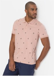 Poloshirt mit Minimalprint Regular Fit, bpc bonprix collection