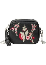 Tasche mit Stickapplikationen, bpc bonprix collection