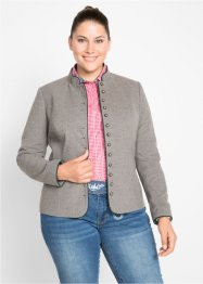 Jacke in Lodenoptik, bpc bonprix collection
