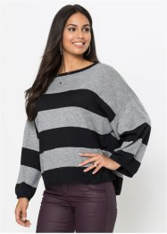 Oversize-Pullover in Boxy-Form, BODYFLIRT