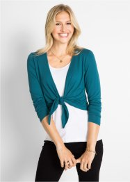 Langarm-Shirt-Bolero zum Binden, bpc bonprix collection