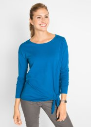 Feinstrickpullover mit Knotendetail, bpc bonprix collection
