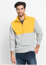 Sweatshirt mit Reißverschluss Regular Fit, bpc bonprix collection
