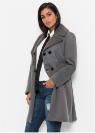 Mantel in Wolloptik, BODYFLIRT