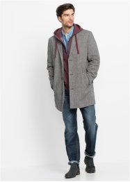 Mantel mit Wolle Regular Fit, John Baner JEANSWEAR