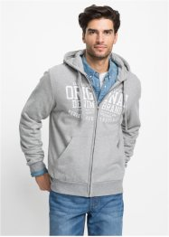 Kapuzensweatjacke Regular Fit, John Baner JEANSWEAR