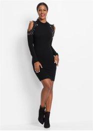 Strickkleid mit Cut-Outs, BODYFLIRT boutique