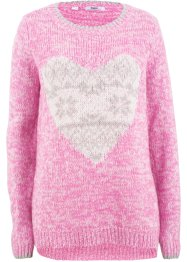 Vokuhila-Strickpullover, Langarm, bpc bonprix collection